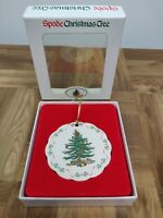 Christmas Spode Tree Ornament New Scalloped Edge 40ORN029