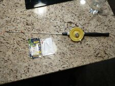 """26"""" Schooley Ice Rod,Reel w/Viscious Ice Line, Jigs ,Bobber, Made in Michigan"""