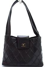 CHANEL Tasche Bag Elegante Matelace Schwarz Noir Schultertasche Shoulder Bag