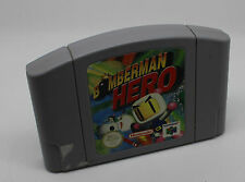 BOMBERMAN HERO Nintendo 64 Cartuccia PAL