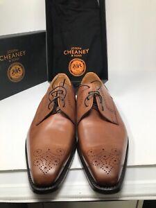 Joseph Cheaney & Sons Men's EWAN Leather Shoes UK Size 9RRP £200