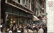 1906 Postcard Knox & Co State Street Chicago Illinois IL Busiest Store Chi PC