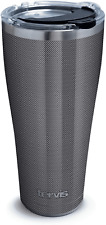 Tervis Carbon Fiber Pattern Insulated Tumbler, 30oz, Stainless Steel