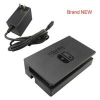 Set For Original Nintendo Switch Dock AC Charger Power Supply Adapter Black