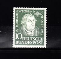 BRD, Bund  Mi. 149 Martin  Luther  postfrisch einwandfrei,  siehe Scan