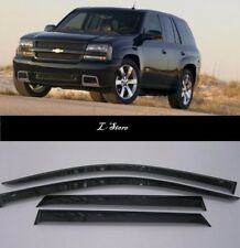 Chevrolet Trailblazer 2002-2010  Side Window Visors Sun Guard Vent Deflectors