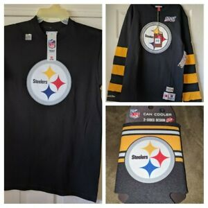NFL Pittsburgh Steelers fan combo pack Mitchell & Ness + FREE bonus item 😳