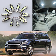 Error Free White Light Interior LED Package 20x for Benz GL-Class X166 13-14 L7