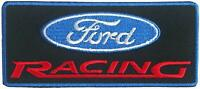 Racing Ford Blue/ Black Motor Cars Embroidered iron/ Sew-on Patch Jacket Badge
