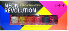 OPI Neon Revolution Mini Nail Lacquers Polish 6pc Set 1/8oz NEW fast shipping!