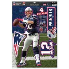 New England Patriots Tom Brady 11x17 Multi Use Decal Sheet [NEW] Sticker Cling