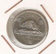 Canada: 5 Cents 1979 (Buen estado)