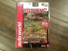 AUTO WORLD 1/64 CHRISTINE 1958 PLYMOUTH FURY DIRTY VERSION MIJO CP7440 CHASE CAR
