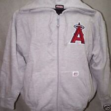 Sweat STITCHES Los Angeles Angels Baseball Américain Taille XL Gris Clair Neuf