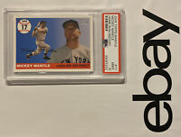 MICKEY MANTLE PSA 9 Topps 💎 MINT New York Yankees INVEST Against Dollar 💵 2006