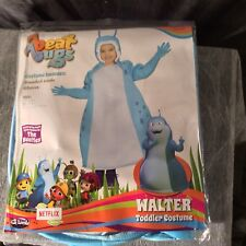 Beat Bugs: Walter Toddler Costume Hooded Tunic and Gloves Size Large: 3T/4T