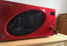 Used Microwave, Red Spectrum 700W by Dunelm Mill