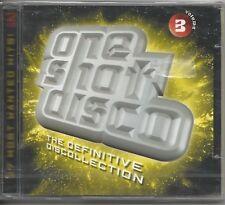One Shot Disco Volume 3 - The definitve Collection - 2 CD 2000 SEALED SIGILLATO