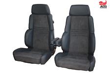 2 Recaro Orthopäd 04 neues Model Armlehnen Leder Alcantara Wohnmobil Sitze T5 T6