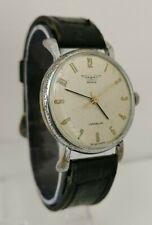 Vtg 1940s Valory Gents WW2 Era Military Aviation Style Wrist Watch Cal AS 1220