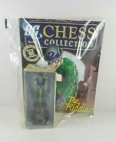 New Sealed Eaglemoss DC Chess Collection Figure Piece Bishop Riddler & Magazine
