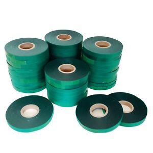 "Rolls 4mil 300 ft x1/2"" Stretch Tie Tape for HTB-2 TAPENER - MAX104 Garden Vinyl"