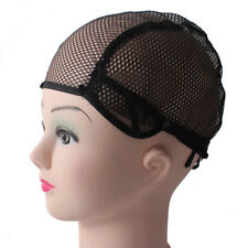 New Wig Front Hat For Making Wigs Adjustable Straps Black Stretch Weaving Cap