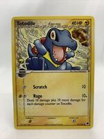 2006 TOTODILE Ex Dragon Frontiers Pokemon Card Mint Rare 67/101