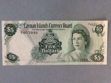 Cayman Islands 5 Dollars P-2-A UNC