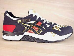 Asics Men's Gel-Lyte V White/Midnight Running Shoes 1193A157-101 Size 10