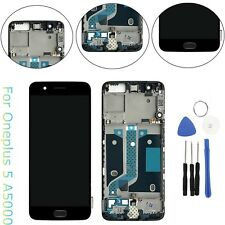 LCD Display Touch Screen Digitizer + Frame Assembly For OnePlus 5 Five A5000