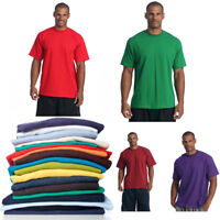 PRO CLUB MEN'S BLANK SOLID HEAVY WEIGHT CREW NECK SHORT SLEEVE T-SHIRT S - 10XL