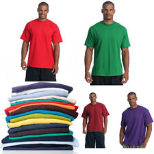 06613aa3 PRO CLUB MEN'S BLANK SOLID HEAVY WEIGHT CREW NECK SHORT SLEEVE T-SHIRT S -
