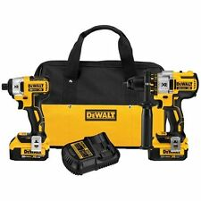 BRAND NEW DEWALT BRUSHLESS 2 PIECE CORDLESS COMBO KIT XR DCK296 DCD995 DCF886kit