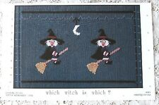 ~ NEW LITTLE MEMORIES WHICH WITCH IS WHICH HEIRLOOM  SMOCKING DESIGN PLATE   ~