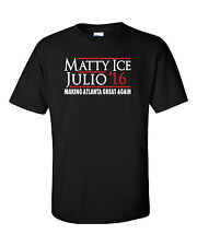 "Julio Jones Matt Ryan Atlanta Falcons ""Matty Ice Julio 2016"" Tshirt jersey S-5Xl"
