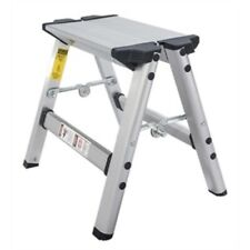Core Distribution Mini Step Stool, 225 lb, Aluminum