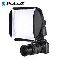 PULUZ 23cm x 23cm Foldable Soft Flash Light Diffuser Softbox For Nikon Canon
