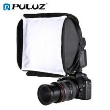 PULUZ 23cm x 23cm Foldable Soft Flash Light Diffuser Soft Box Case Bag