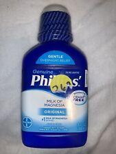 Phillips' Milk of Magnesia Original 26 oz EXP 06/2021
