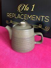 Denby Chevron Teapot 8 Bands 1.5 Pint Teapot