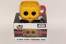 FUNKO POP! HOME SMUGGLERS BOUNTY EXCLUSIVE STAR WARS C-3PO CERAMIC MUG NEW!