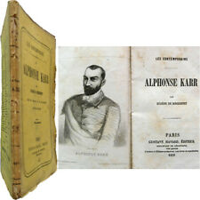 Alphonse Karr 1858 Eugène de Mirecourt Havard Contemporains portrait