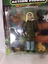 Crazy Cat Lady Action Figure By Accoutrements New Sealed Package