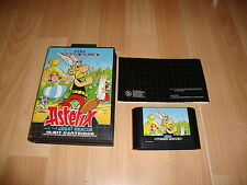 ASTERIX AND THE GREAT RESCUE PARA LA SEGA MEGA DRIVE USADO COMPLETO