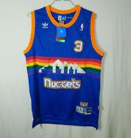 NWT Allen Iverson #3 Denver Nuggets NBA Basketball Jersey ADIDAS EXTRA LARGE XL