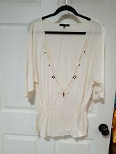 Fluttery Hippie Chic Ethnic Tunic Top Heart Moon Star