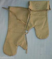 ww2  aussie made munitions handling mittens