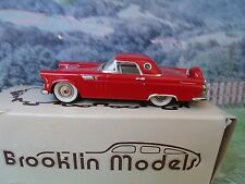 1/43 Brooklin models  ( England) FORD THUNDERBIRD 1956 white metal