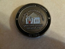 CHALLENGE COIN CHURCH ANNIVERSARY CELEBRATION SAINT PAUL CHRISTIAN METHODIST PA